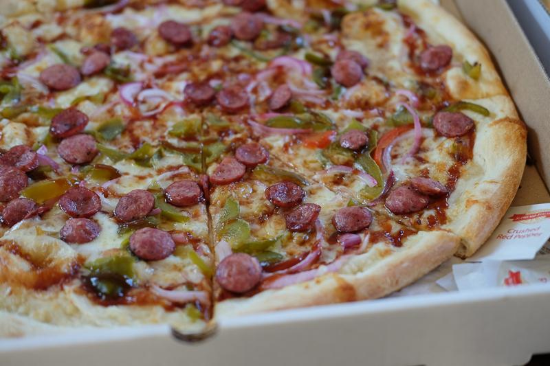 BBQピザ
