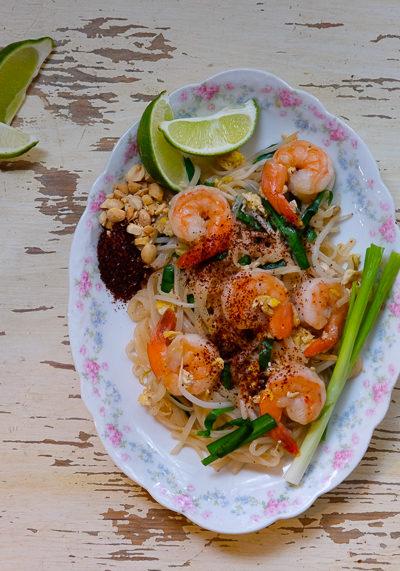 【レシピ】タイ人シェフに習った「パッタイ」