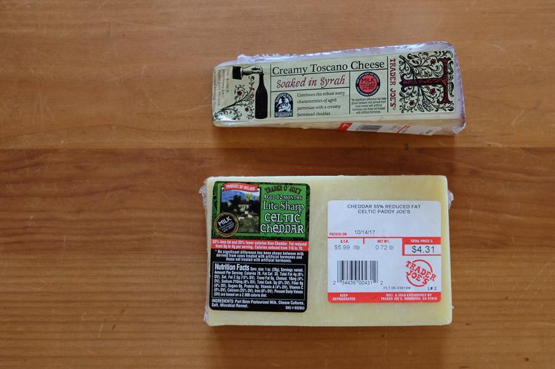 チーズ二種類