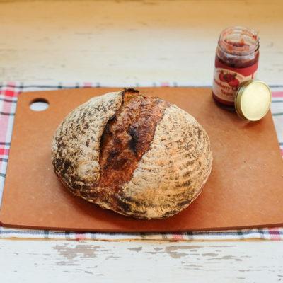 【パン】奥が深いから楽しいいパン作り。今回のサワードウブレッドには、気泡がたくさん!