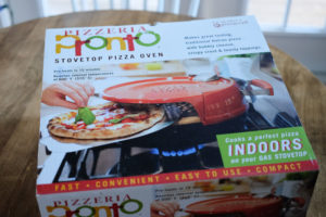 ピザがカリッと焼ける!ストーブトップピザオーブン「PRONTO」を使ってみました♪
