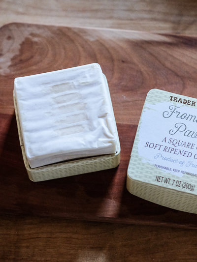 うっとりしちゃうクリーミーなくちどけ★トレジョのチーズ、Fromage Pave(パヴェ ダフィノア)