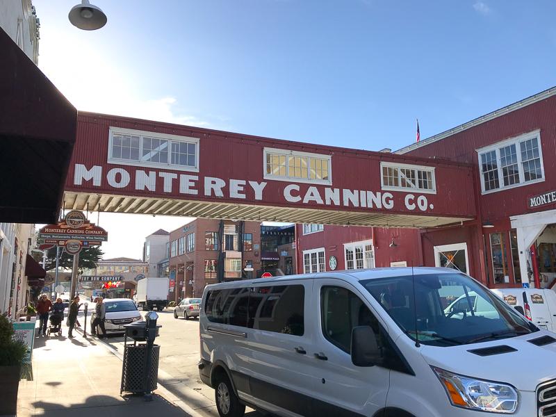 モントレーのキャナリーロゥ