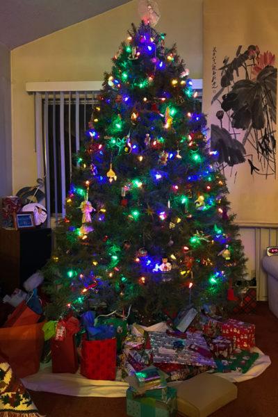 いつもと同じクリスマスを迎えられるしあわせ