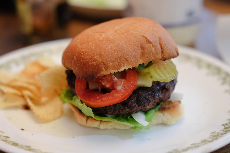 大晦日のハンバーガー