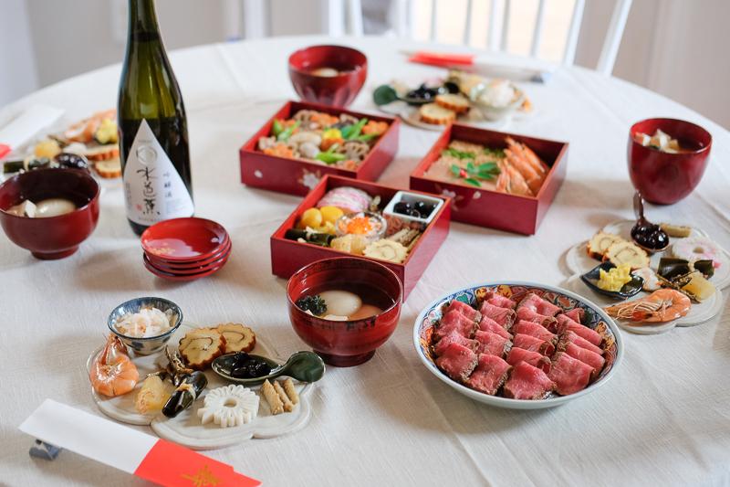 お正月のテーブル