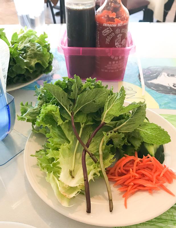 フレッシュなお野菜たっぷり