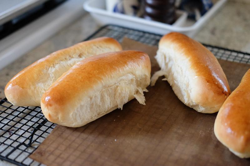 ちぎりパン風ホットドッグバンズ