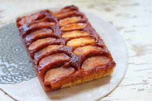 キャラメルアップルケーキ