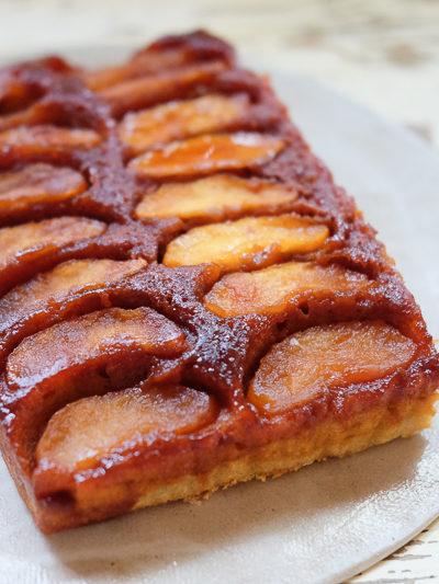 キャラメルアップルケーキ… は、大人の味だったようで。
