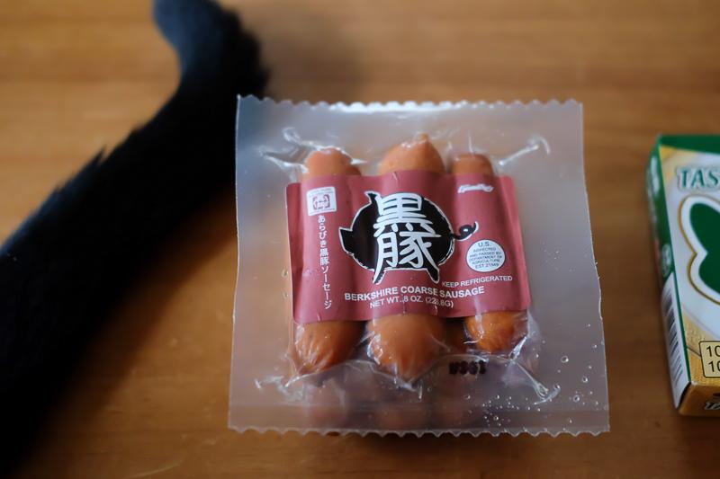 日本風ソーセージ