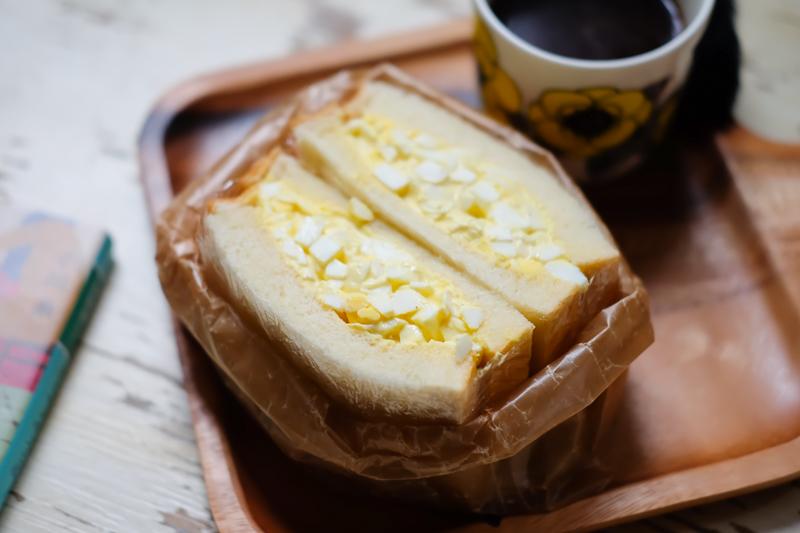 しっとりふわふわなパンで