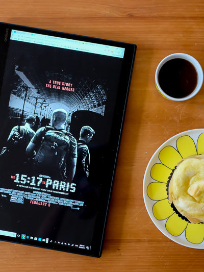 映画『15時17分、パリ行き』と、韓国ベーカリーのパンのおはなし。