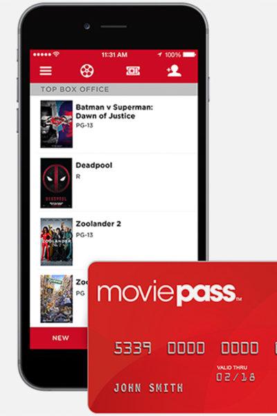 月額$9.95で毎日映画が見放題。「ムービーパス」はもう手に入れましたか?
