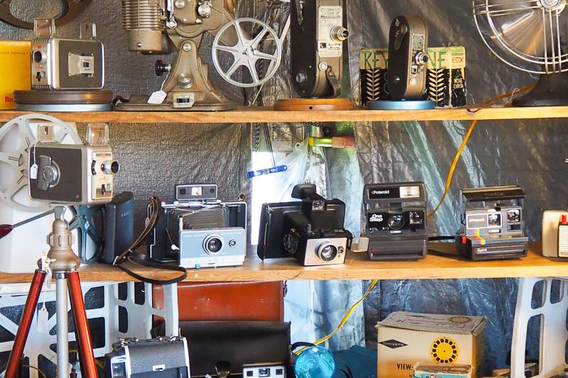 古いカメラも
