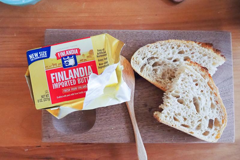 フィンランドの美味しいバター