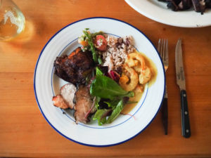 ジャマイカ料理でおもてなし