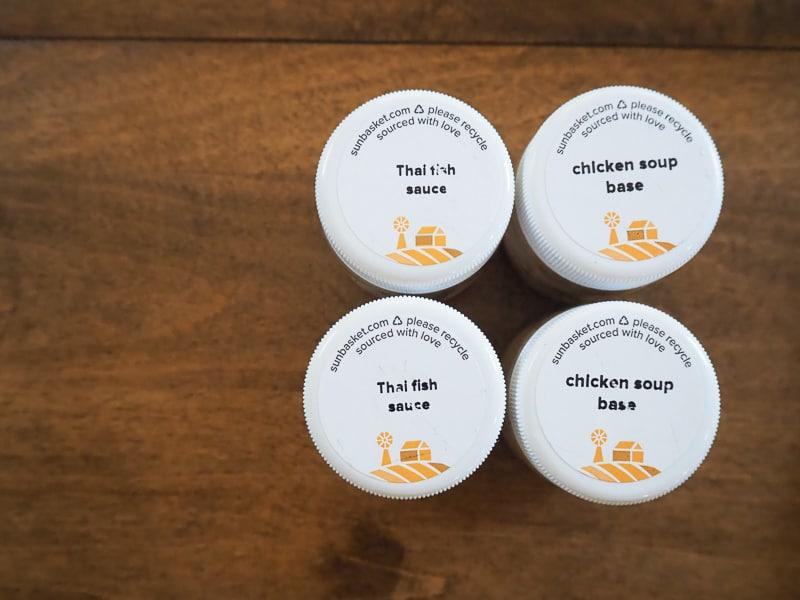 スープの素とフィッシュソース