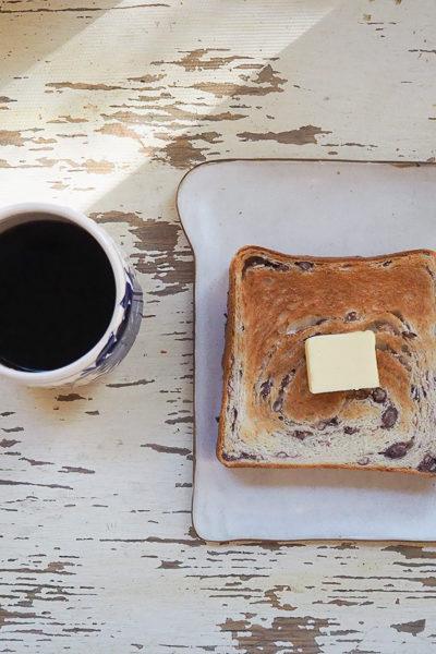 【パン】『あん食』焼いた♪ トーストしてバターを塗ったら、幸せなおいしさでした。