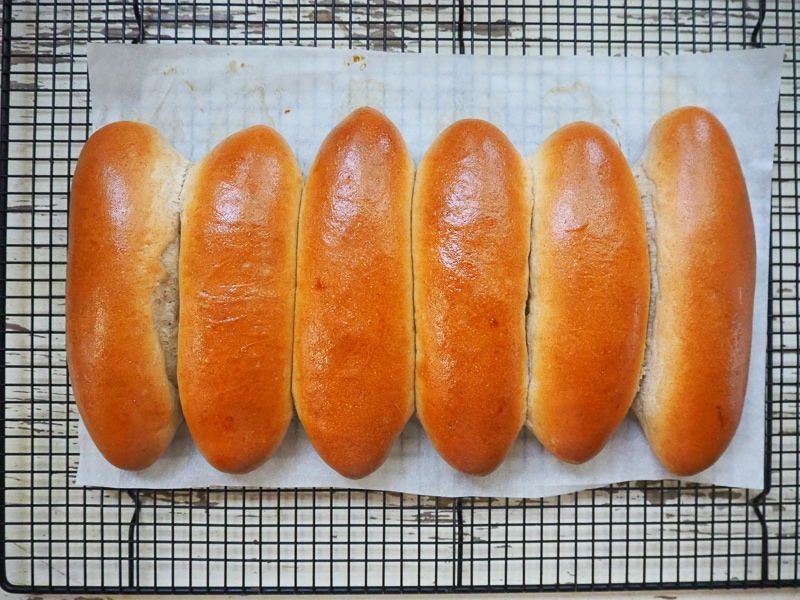 手作りコッペパン