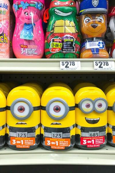 アメリカから日本へのお土産アイデア★子供が喜びそうな、遊び心満載のお風呂グッズたち。