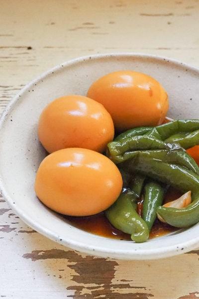 【レシピ】冷蔵庫に常備したい♪ 優しい味の「韓国風煮たまご」。