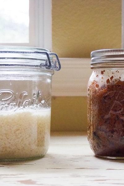 塩麴と三升漬け仕込み