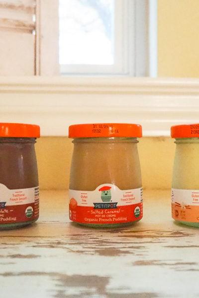 グロッサリーストアで買える、おいしくてかわいいデザート『PETITPOT』。バニラとチョコレート味も買ってみた♪
