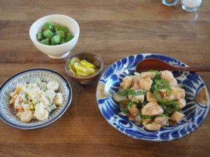 鶏肉とハラペーニョの中華風炒め物&冷凍庫&パントリーにあるもの、使い切りマラソン中。