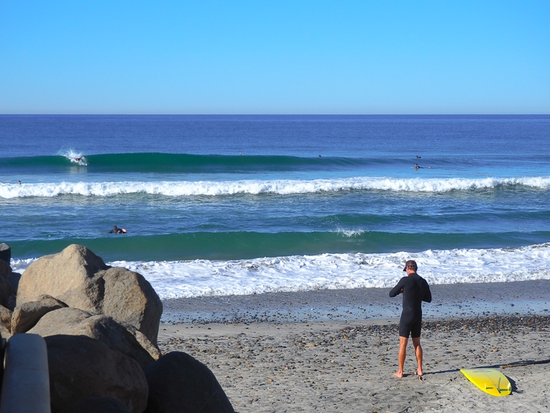よい波が出てます