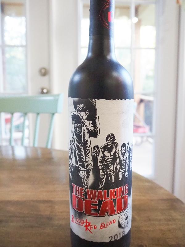 ウォーキングデッドラベルのワイン!