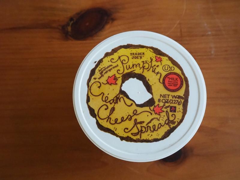 パンプキンクリームチーズスプレッド