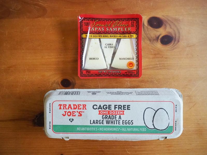 チーズサンプラー&ケージフリーのたまご
