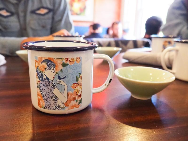 オリジナルのカップ