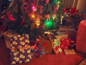 オット実家でのクリスマスイブ。