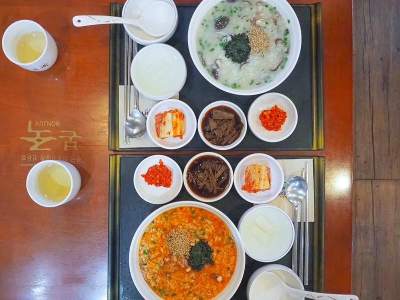韓国のおかゆ