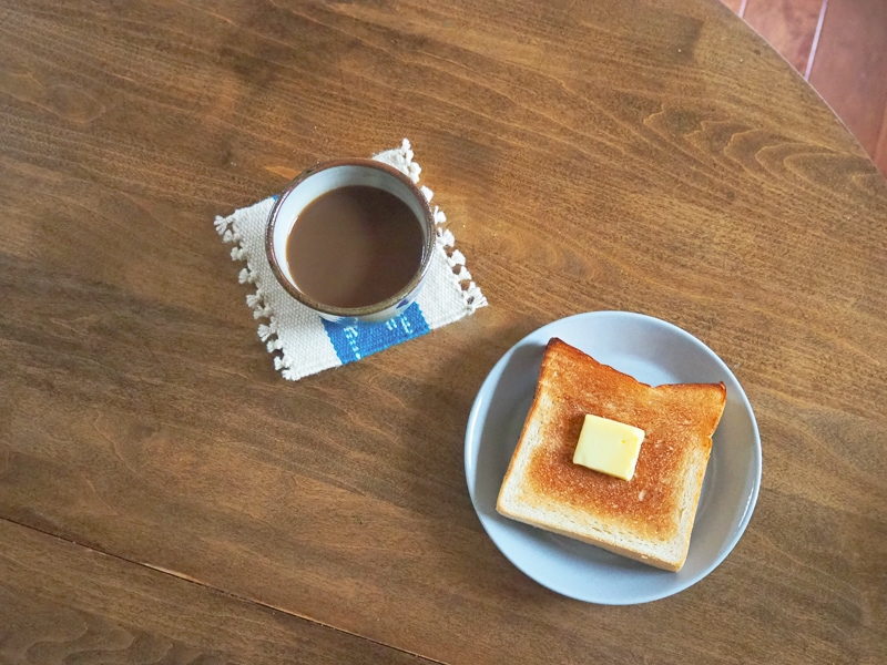 自家製食パンのトースト