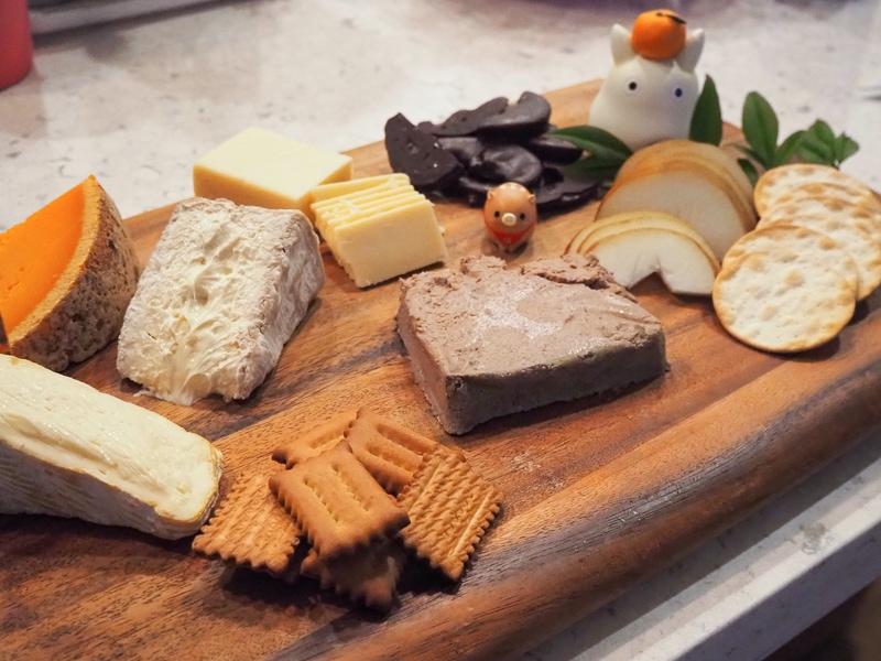 お正月チーズボード