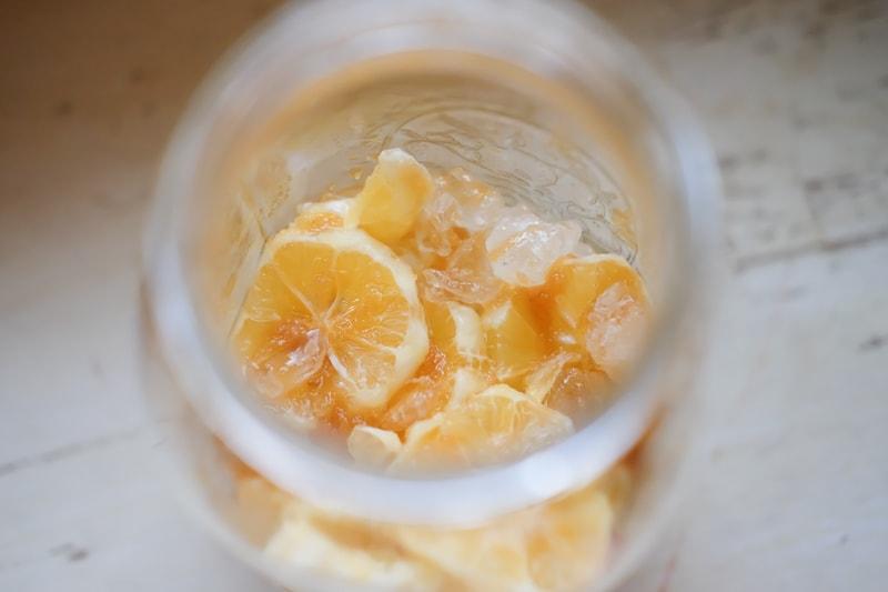 マイヤーレモンの砂糖漬け