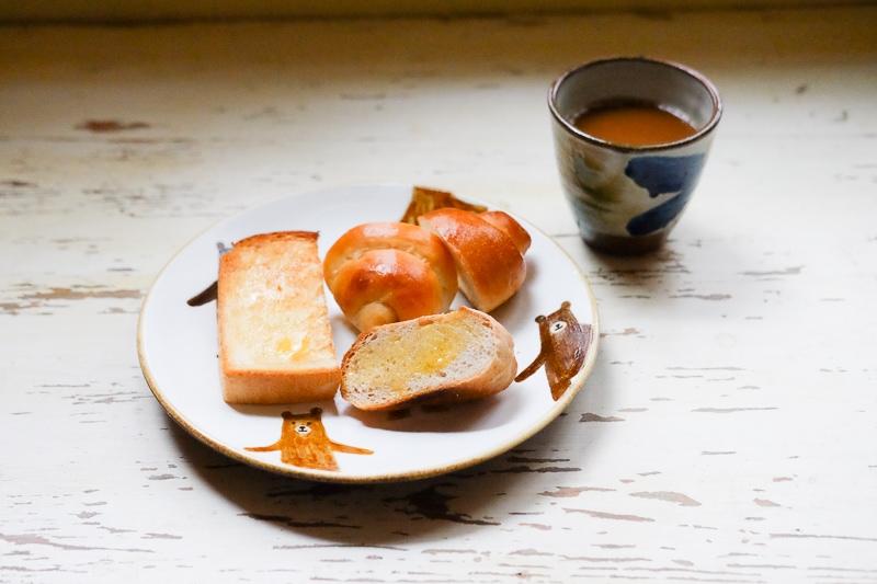 焼いたパンたちの試食