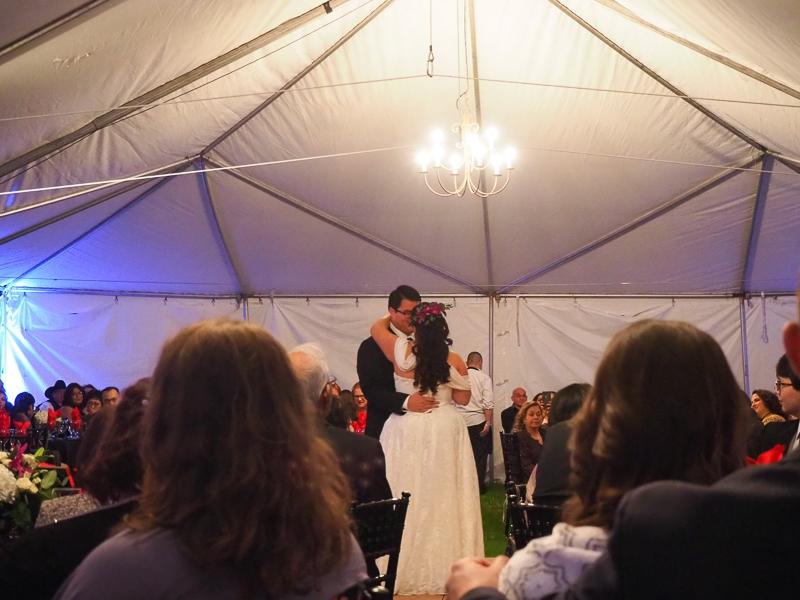 花嫁&花婿のダンス