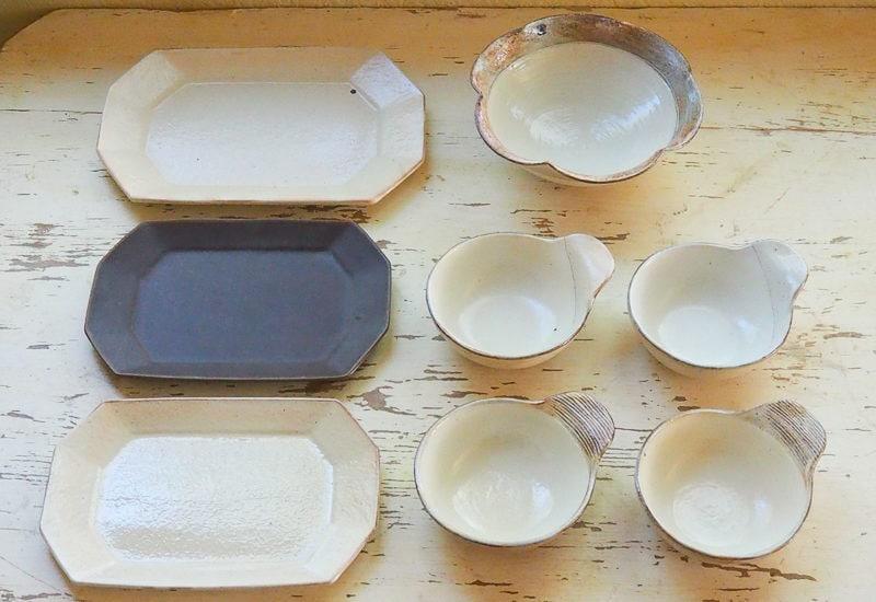 小谷製陶所さんの器たち