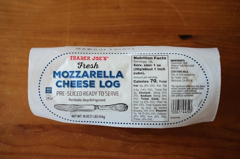 モッツァレラチーズスライス