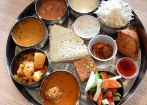 ベジタリアンインド料理