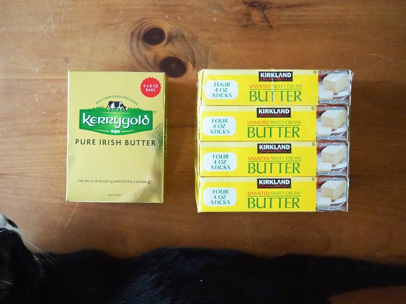 ヨーロッパの発酵バター&普段使い無塩バター
