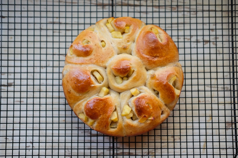 アールグレイ酵母で焼いたパン