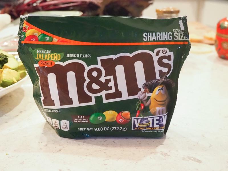 ハラペーニョ味のm&ms?