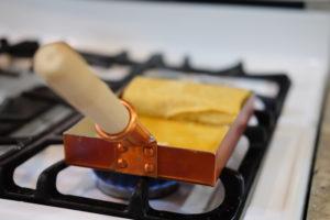 銅製の卵焼き鍋
