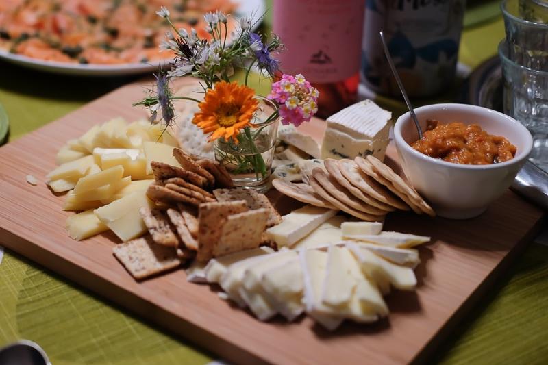 美しいチーズプレート