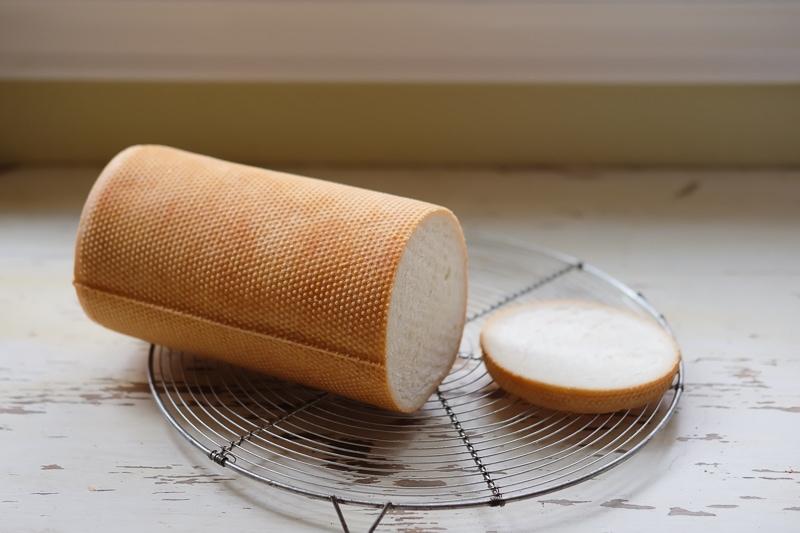 久々のラウンドメッシュパン